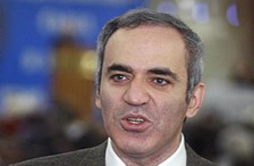 Garry Kasparov 224.88 (photo credit: AP)
