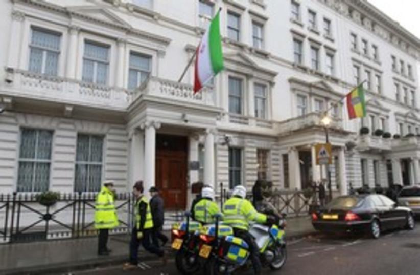 Iran embassy in London_311 (photo credit: Reuters)