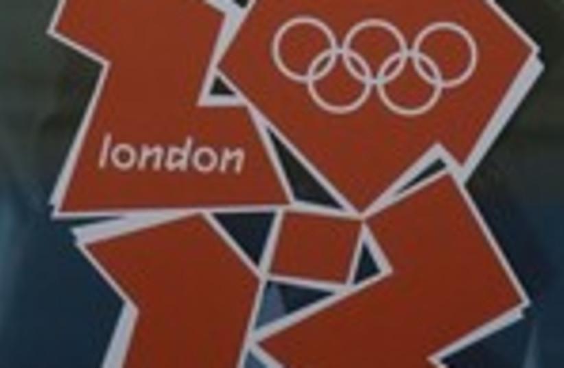 London Olympics 2012 logo (photo credit: Reuters)