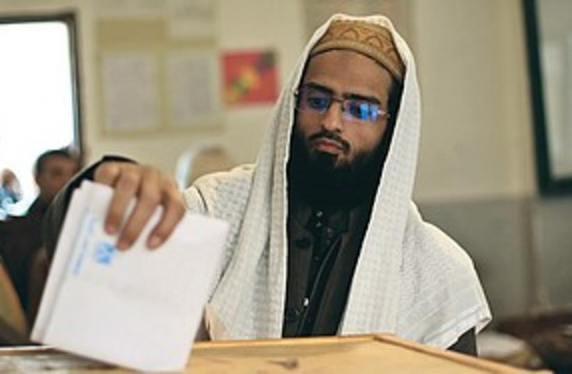 Arab voting 311 (photo credit: REUTERS)