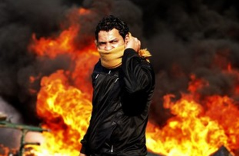Egypt protester 311 R (photo credit: REUTERS/Goran Tomasevic)