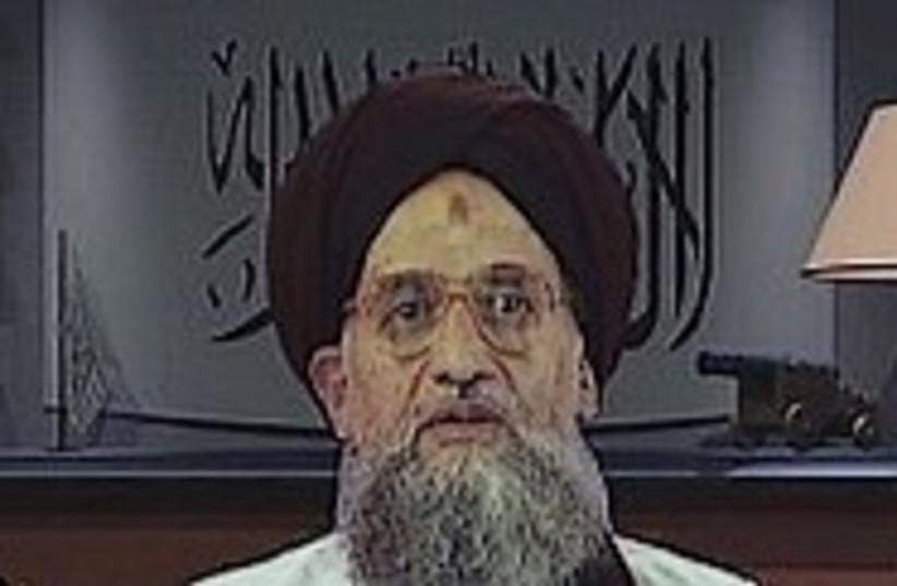 Zawahri 224.88 (photo credit: AP)