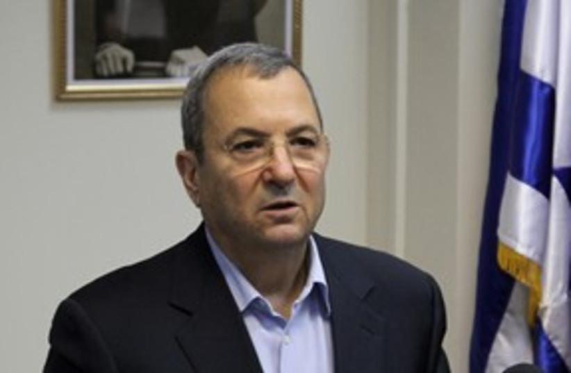 Defense Minister Ehud Barak 311 (photo credit: Marc Israel Sellem)