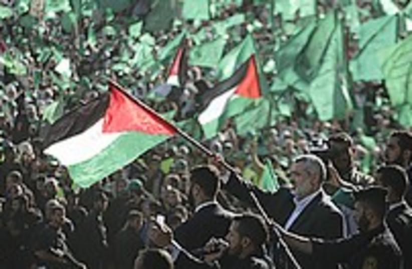 Haniyeh rally 224.88 (photo credit: AP)