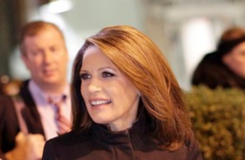 US Representative Michele Bachmann 311 (photo credit: REUTERS)