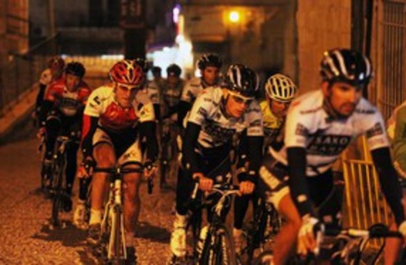 Riders in the Tour de Jerusalem 311 (photo credit: Marc Israel Sellem)