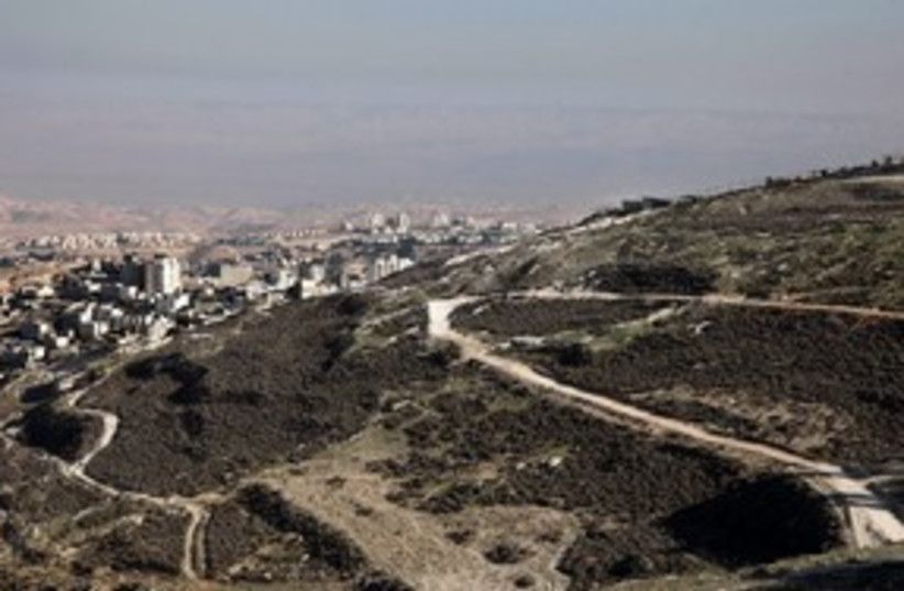Proposed site of a national park in east Jerusalem 311 (photo credit: Marc Israel Sellem)