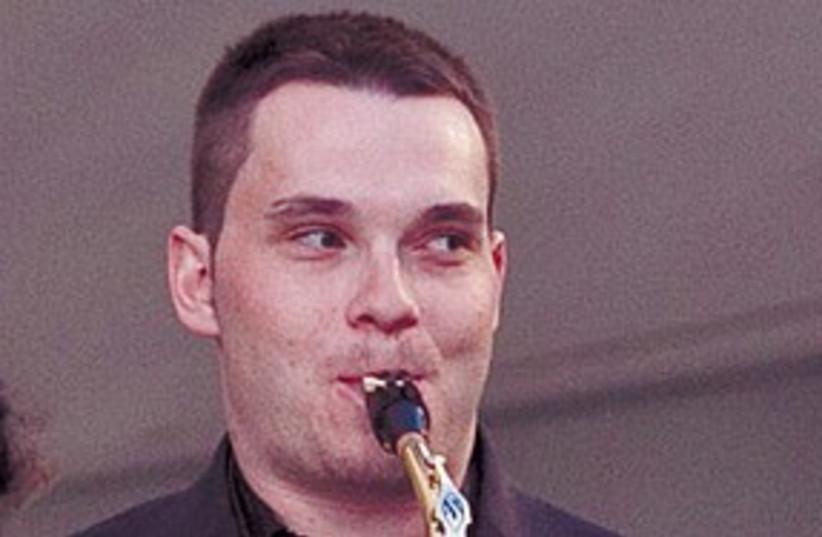Man playing Jazz 311 (photo credit: IILAN SPIRA)