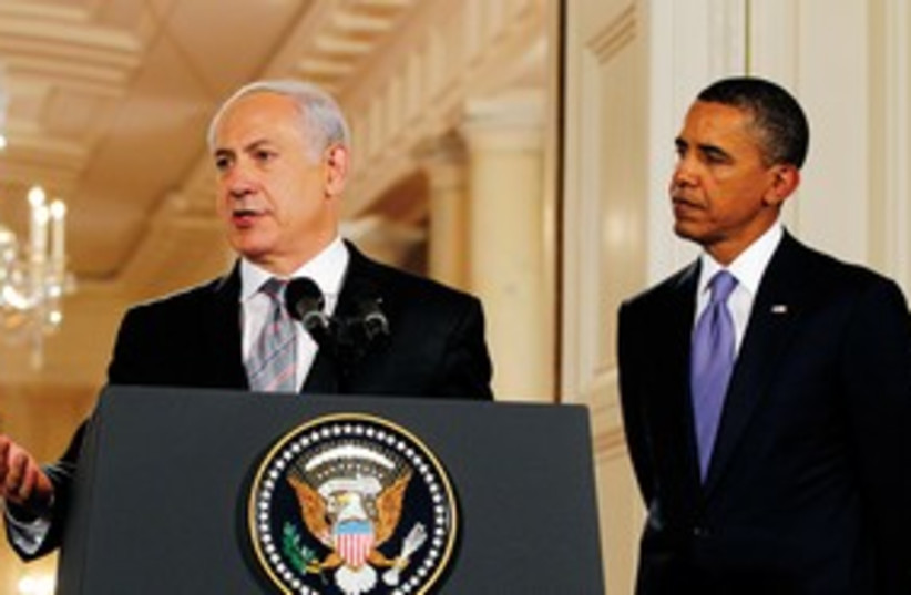 Netanyahu and Obama 311 (photo credit: Reuters)
