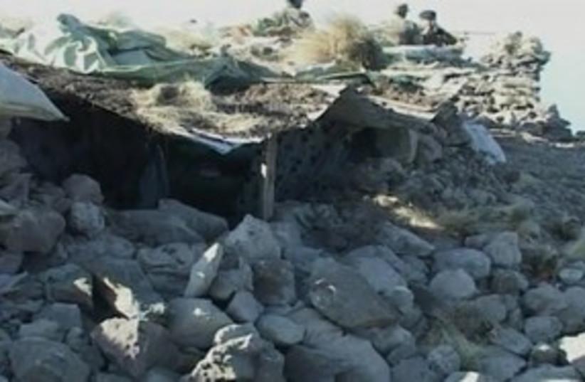 NATO airstrike in Pakistan 311 (photo credit: REUTERS/ISPR via Reuters TV)