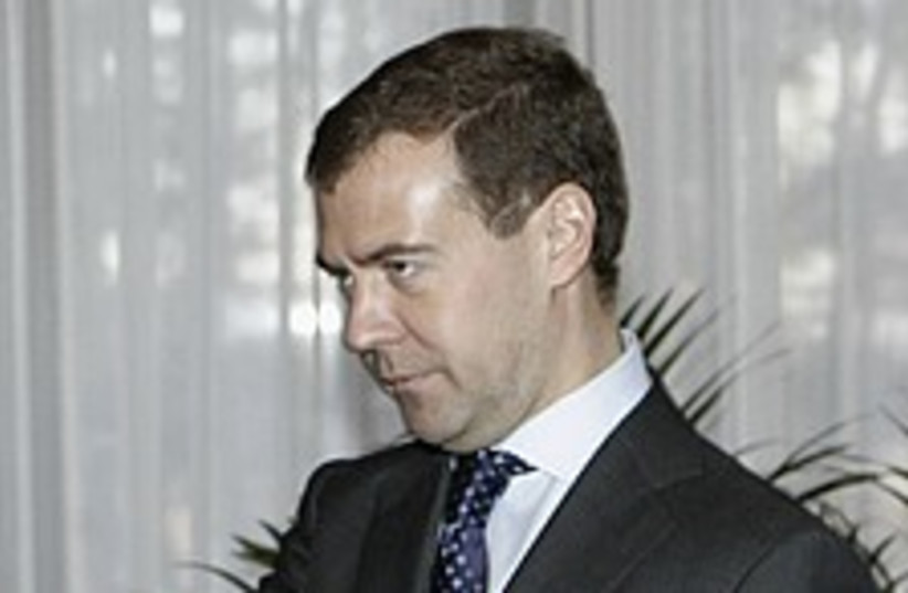 Dmitry Medvedev 224.88 (photo credit: AP)