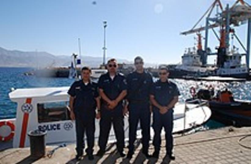 eilat marine police 224  (photo credit: Courtesy Eilat Marine Police)
