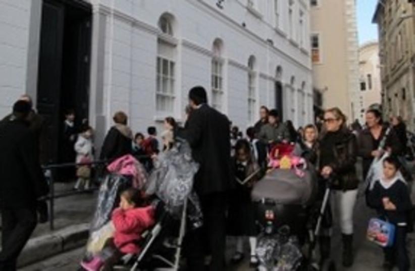 Jews in Gibraltar  311 (photo credit: JTA)