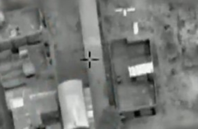 IAF air strike video_311 (photo credit: IDF Spokesperson)
