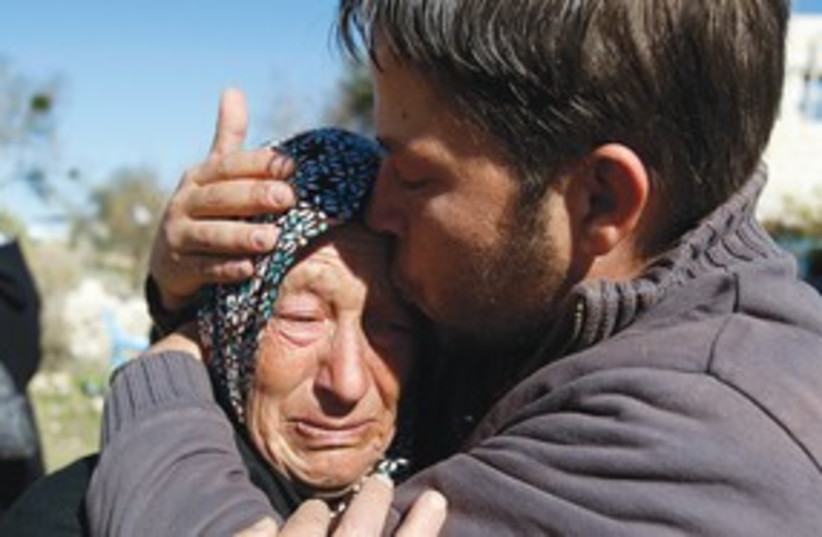 Relatives of Mustafa Tamimi_311 (photo credit: Reuters)