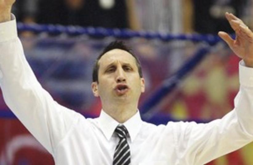 MACCABI TEL AVIV coach David Blatt_311 (photo credit: Reuters)