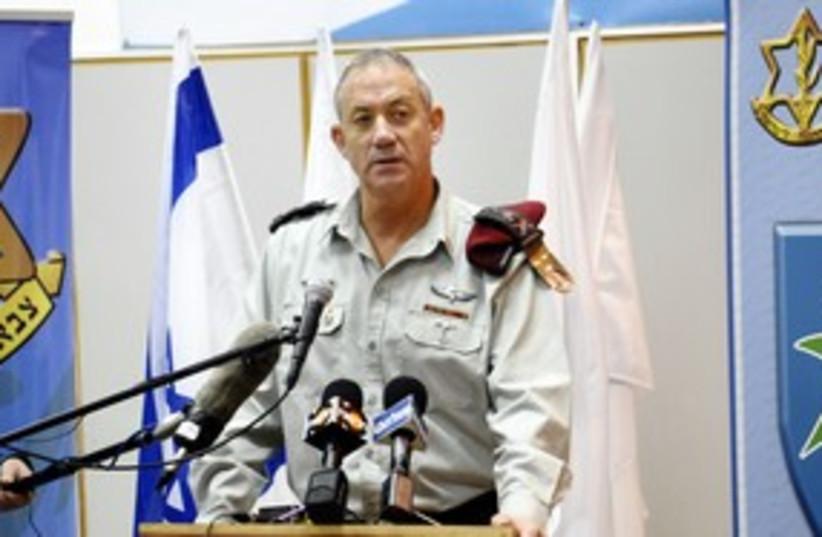 IDF Chief of General Staff Benny Gantz_311 (photo credit: IDF Spokesperson)