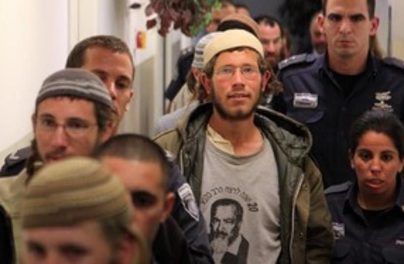 Settler arrested for crossing Jordan border 311 (photo credit: Marc Israel Sellem)