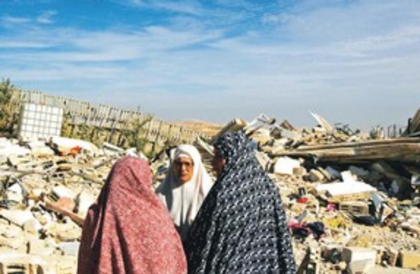 Palestinian homes demolished 311 (photo credit: Reuters)