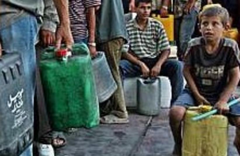 gaza fuel cut 224.88 (photo credit: AP [file])