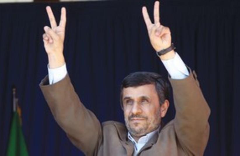Ahmadinejad 311 (photo credit: REUTERS)