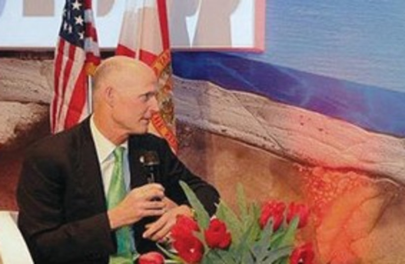 Florida Governor Rick Scott in Israel_311 (photo credit: Courtesy of governor's office)