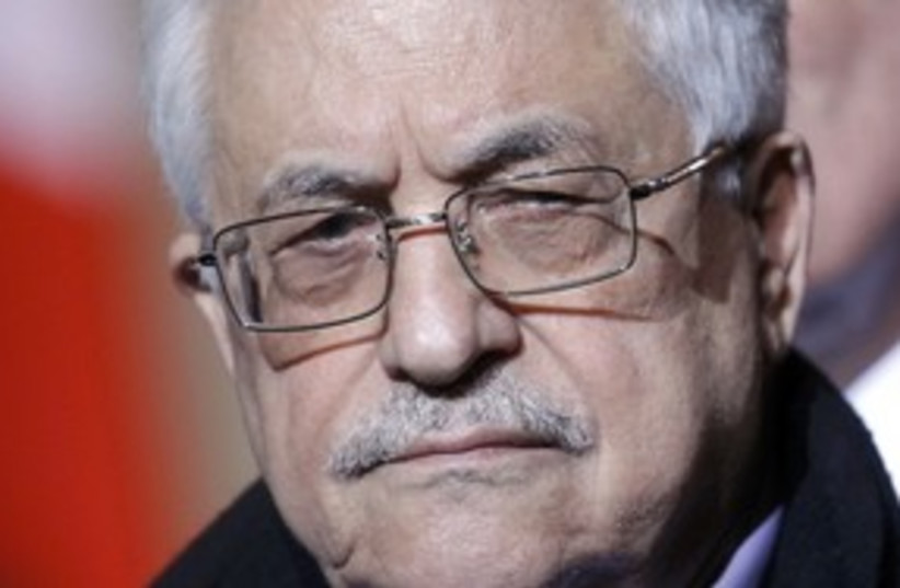 Palestinian President Mahmoud Abbas_311 (photo credit: Reuters)