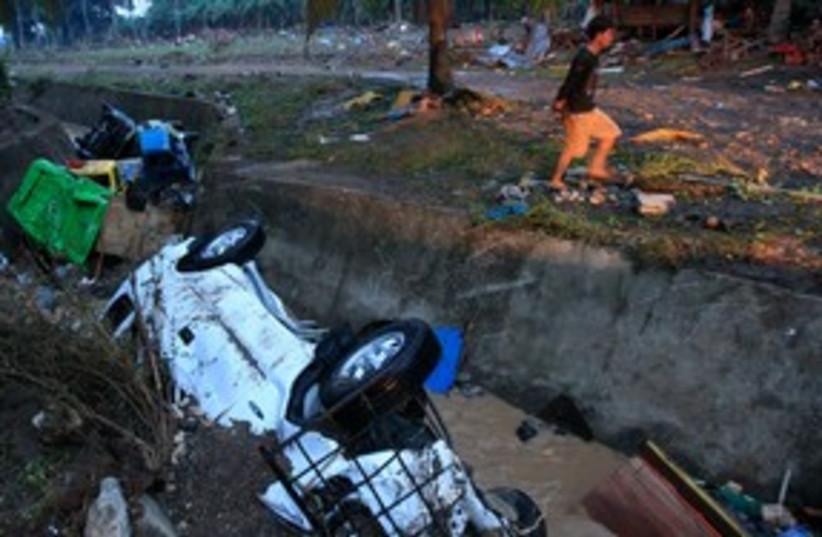 Philippines Typhoon 311 (photo credit: REUTERS)