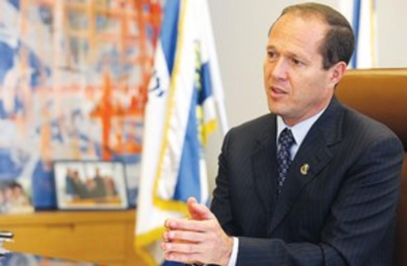 Jerusalem Mayor Nir Barkat 311 (photo credit: Marc Israel Sellem)