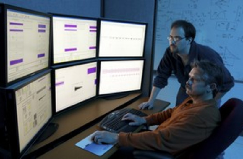 Cyber warfare US Department of Homeland Security 311 (R) (photo credit: Ho New / Reuters)