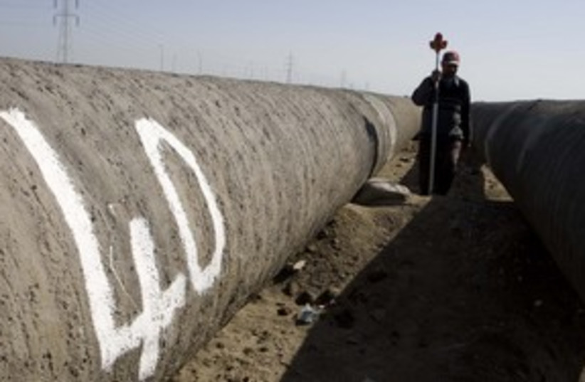 Egyptian gas pipeline 311 (photo credit: REUTERS)
