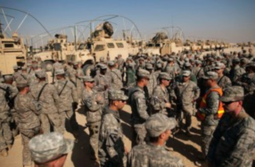 US soldiers leaving Iraq 311 (photo credit: REUTERS)