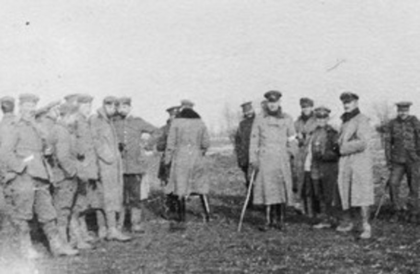 Christmas Truce of 1914 311 (photo credit: Wikimedia Commons)