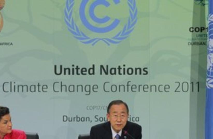 UN climate convention 311 (photo credit: REUTERS)