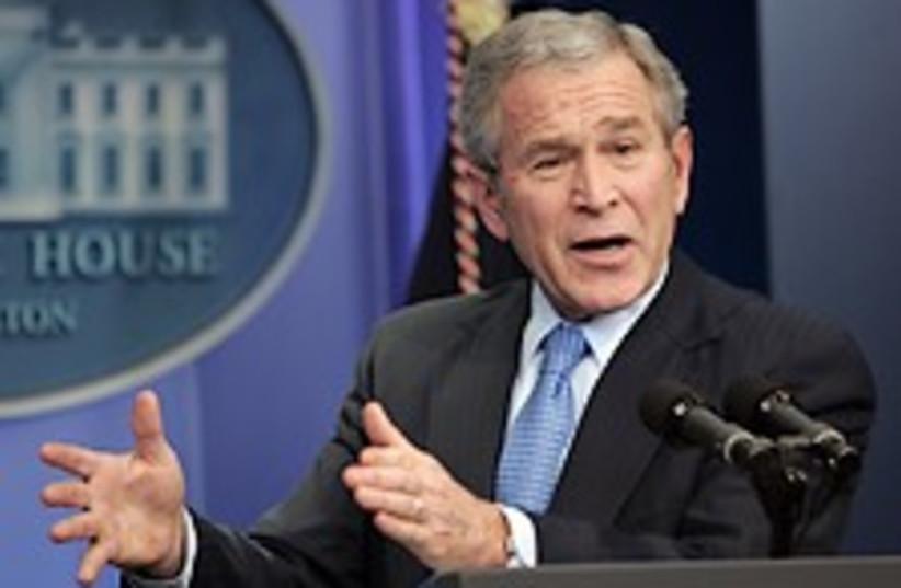 Bush White House 224.88 (photo credit: AP)