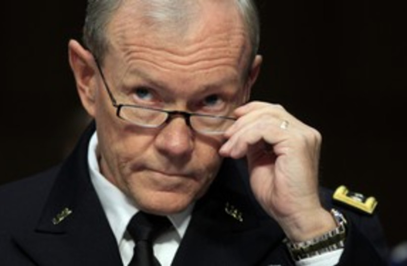 US General Martin Dempsey 311 (photo credit: REUTERS)