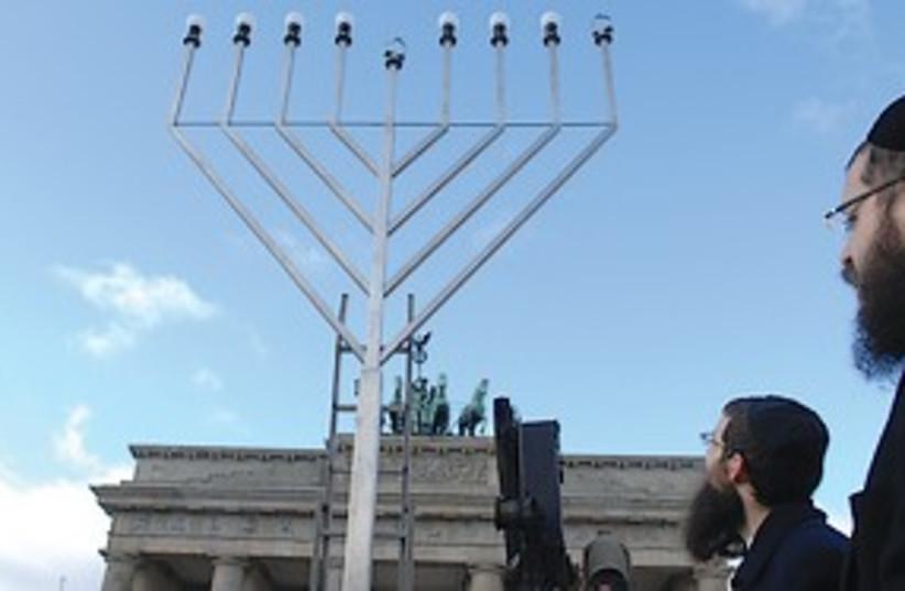 Hanukkia 311 (photo credit: Courtesy of Chabad- Lubavitch)