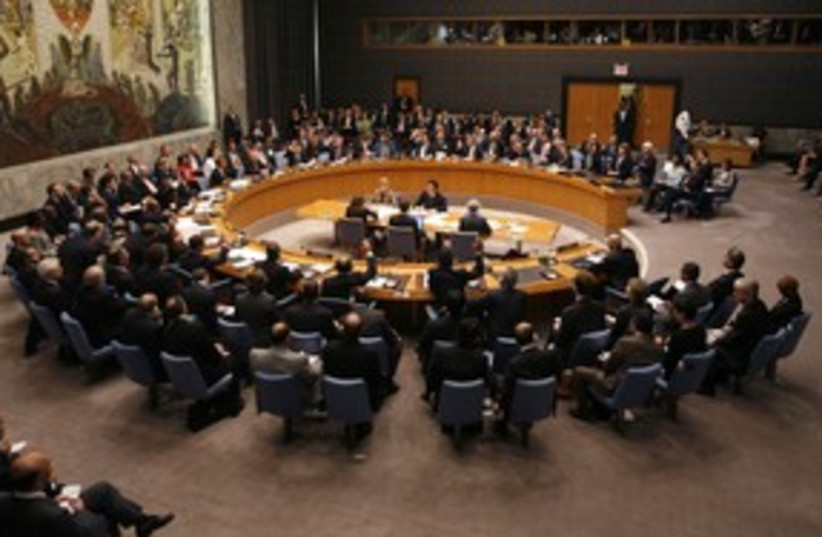 United Nations Security Council 311 (R) (photo credit: Mike Segar / Reuters)
