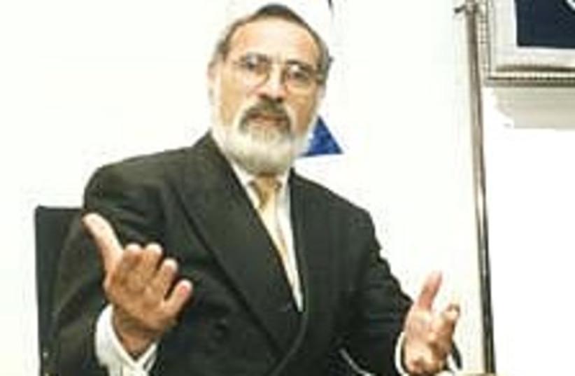 rabbi sacks 22.488 (photo credit: )