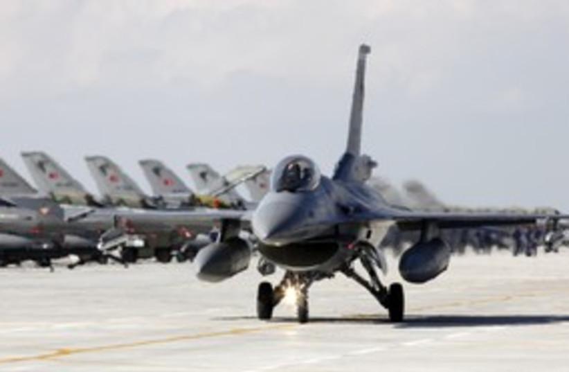 Turkish F-15 jet fighter 311 (photo credit: REUTERS)