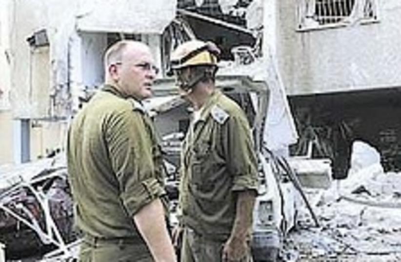 Home Front troops 224.88 (photo credit: Ariel Jerozolimski)