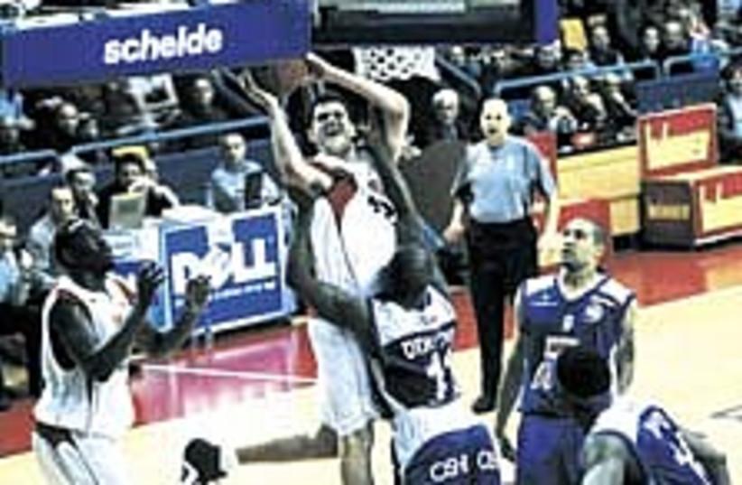 Hapoel Jlem Basketball (photo credit: Asaf Kliger)