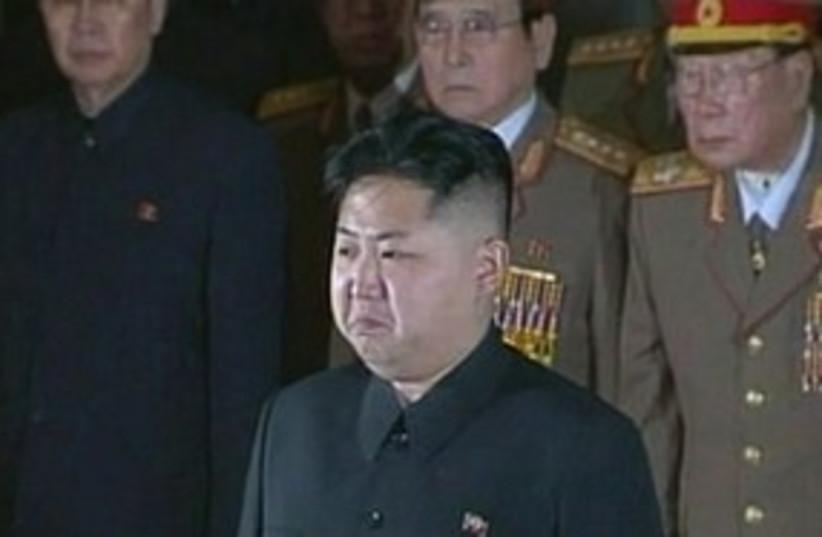 New North Korean ruler Kim Jong-un 311 R (photo credit: REUTERS)