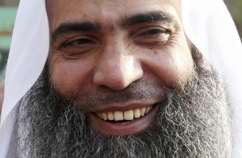 Abo El-Maty of the Salafist party 311 R (photo credit: REUTERS/Amr Dalsh)