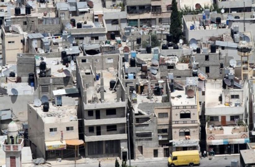 Aerial view of Nablus