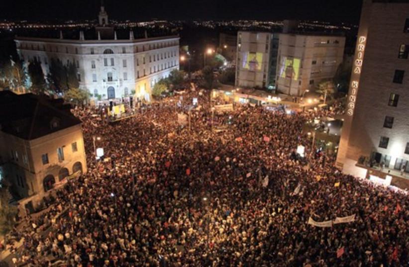 Million-man-march in Jeruslaem