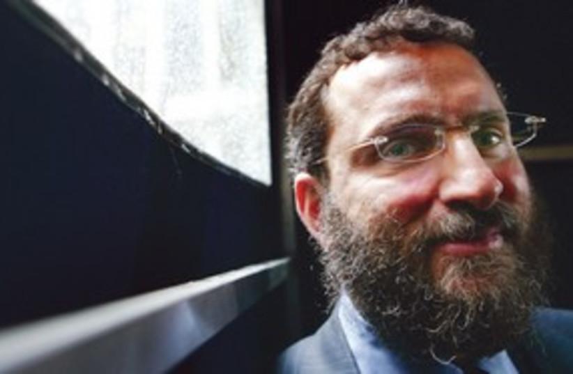 Rabbi Shmuely Boteach 311 (R) (photo credit: REUTERS)