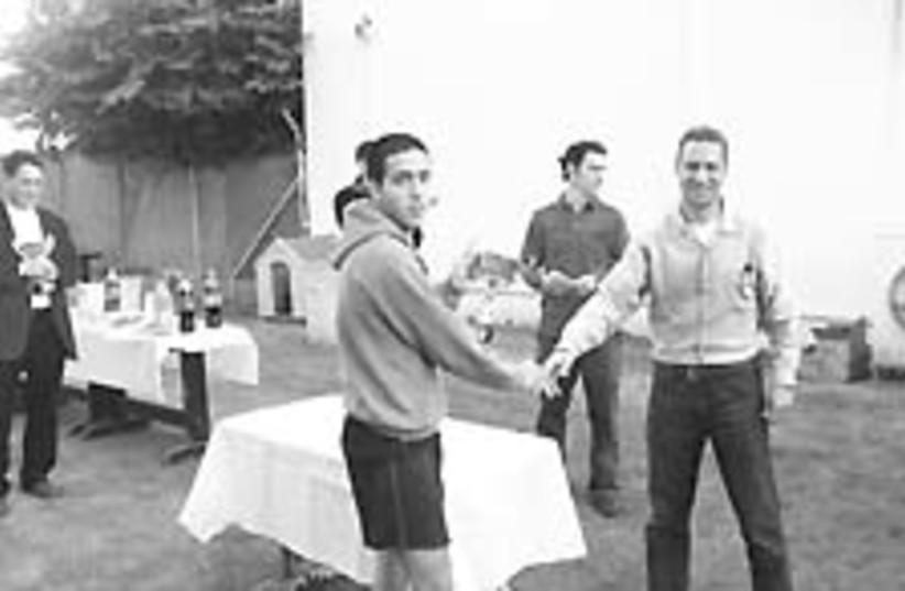 squash champ avron (photo credit: Courtesy)