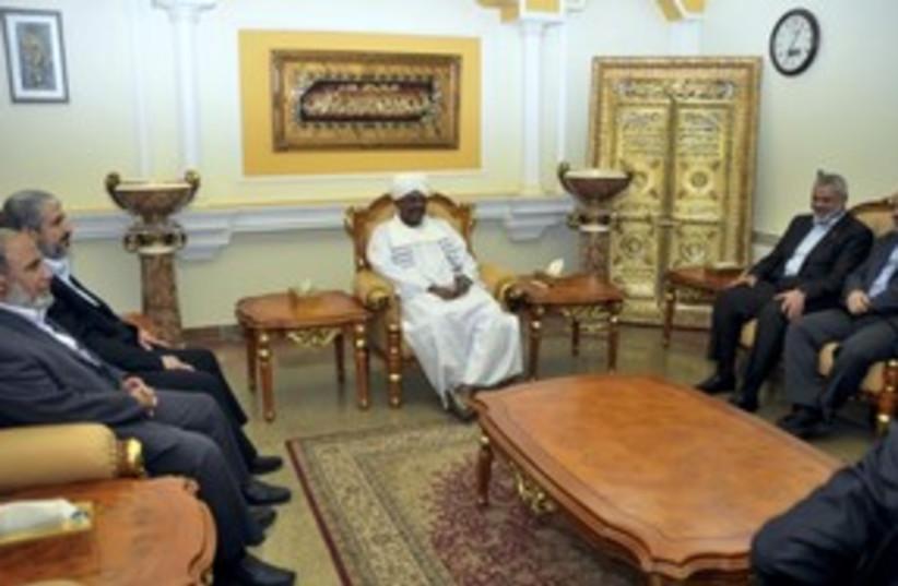 Bashir, Zahar, Mashaal, Haniyeh_150 (photo credit: Reuters)