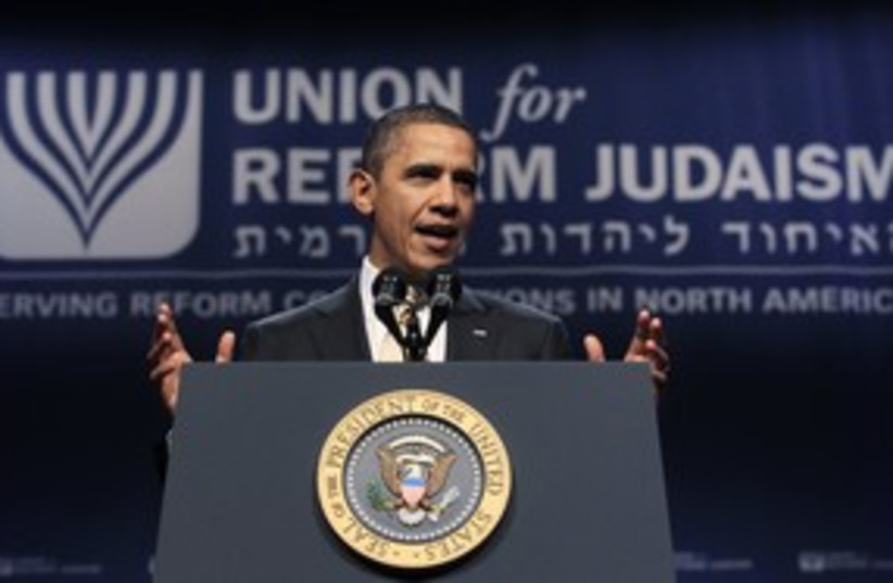 Barack Obama 311 (photo credit: Reuters)